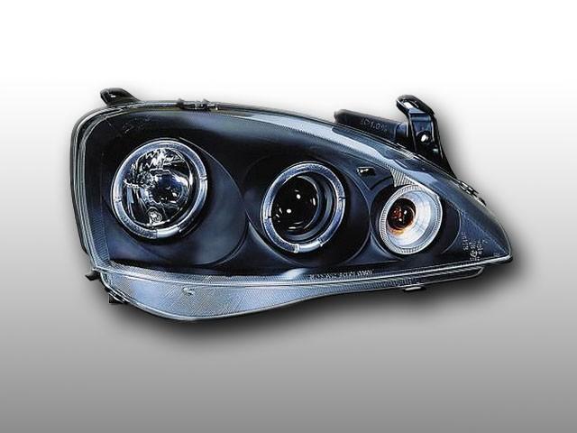 Angel Eyes Scheinwerfer Opel Corsa C 3/5T 01-04