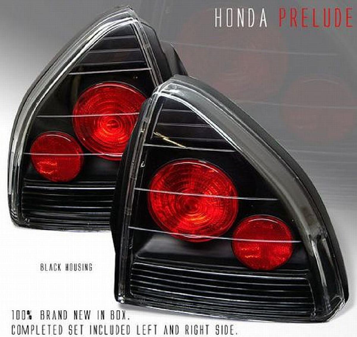 G3 Rückleuchten Honda Prelude 92-96 Schwarz