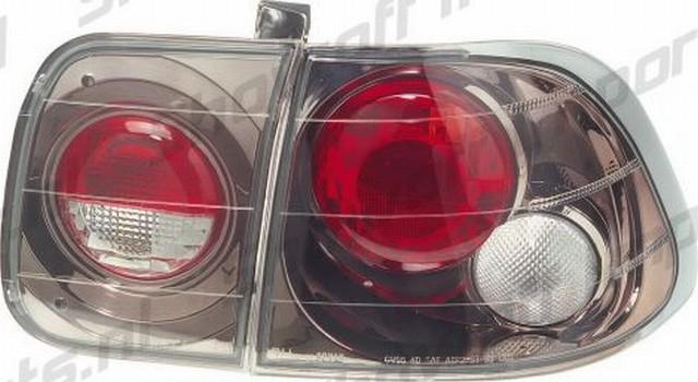 G3 Rückleuchten Honda Civic 4T 96-00 Gunmetal