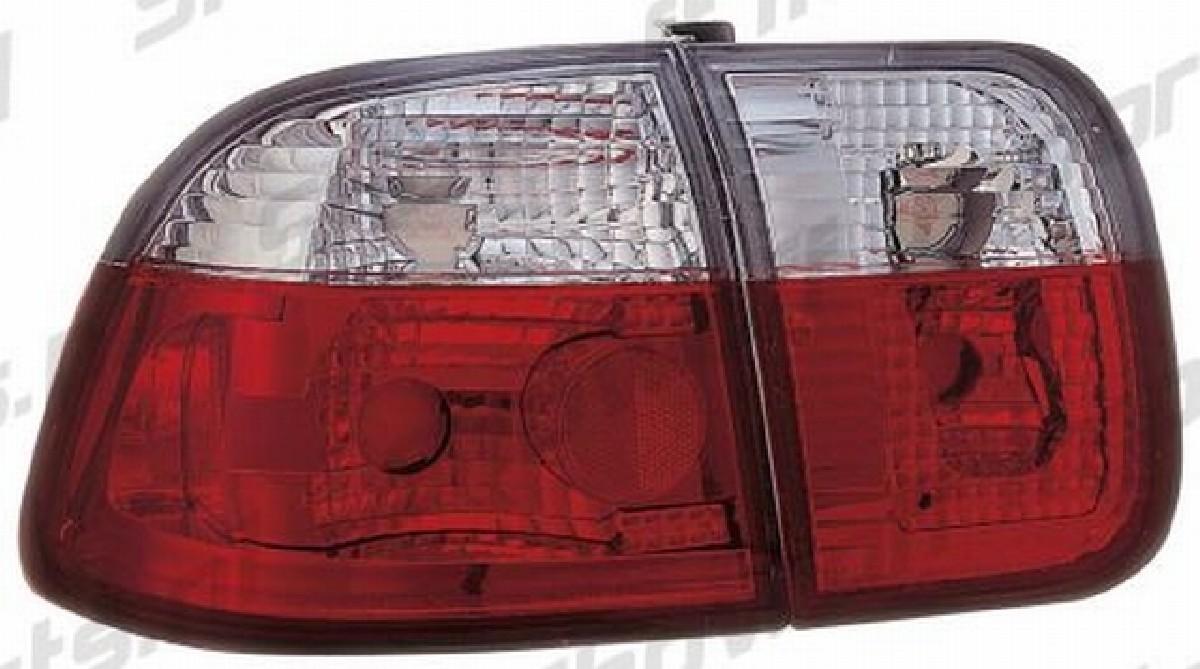 Rückleuchten Honda Civic 4T 96-00 Rot/Klar