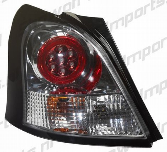 Toyota Yaris 06-09 Chrome LED Rückleuchten
