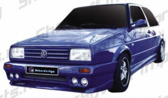VW Golf II Conflict Frontstoßstange