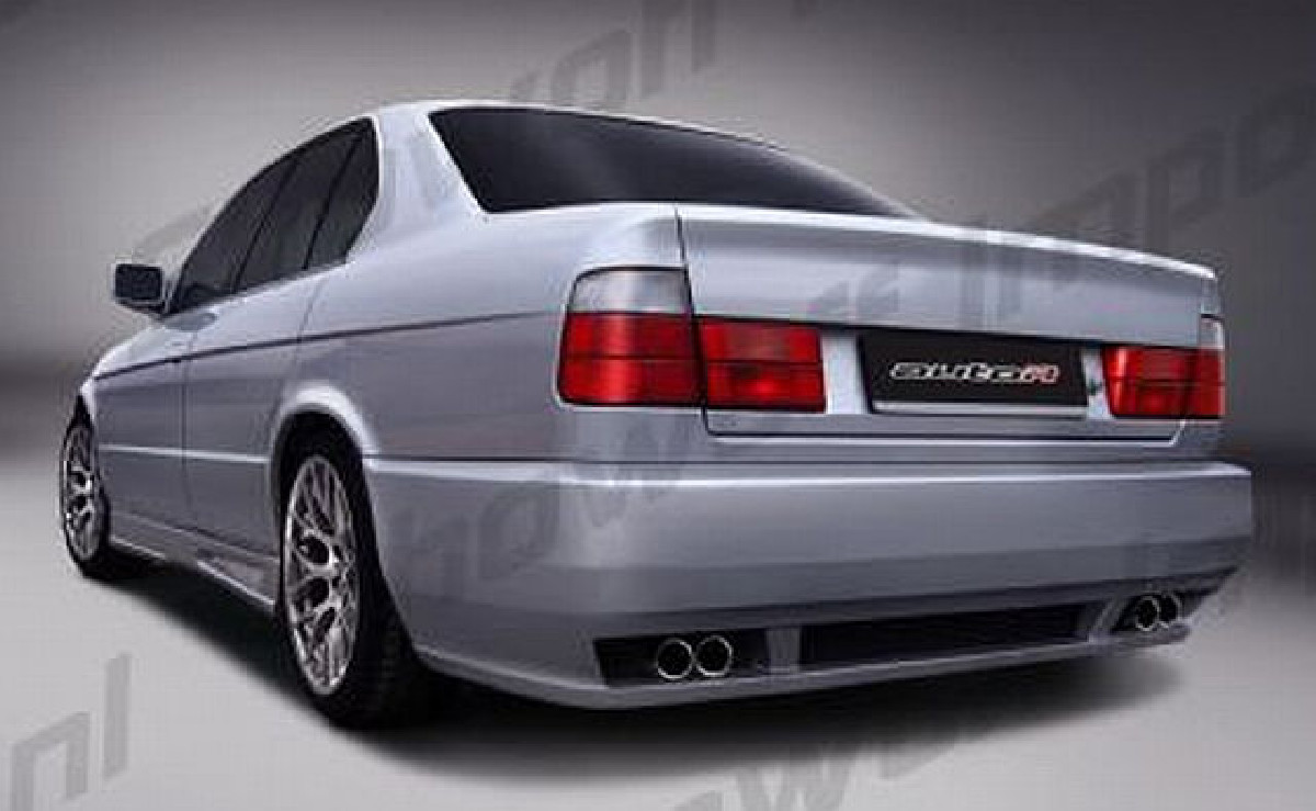 Heckstoßstange BMW 5er E34 Limo Bj. 88-95 Sharp