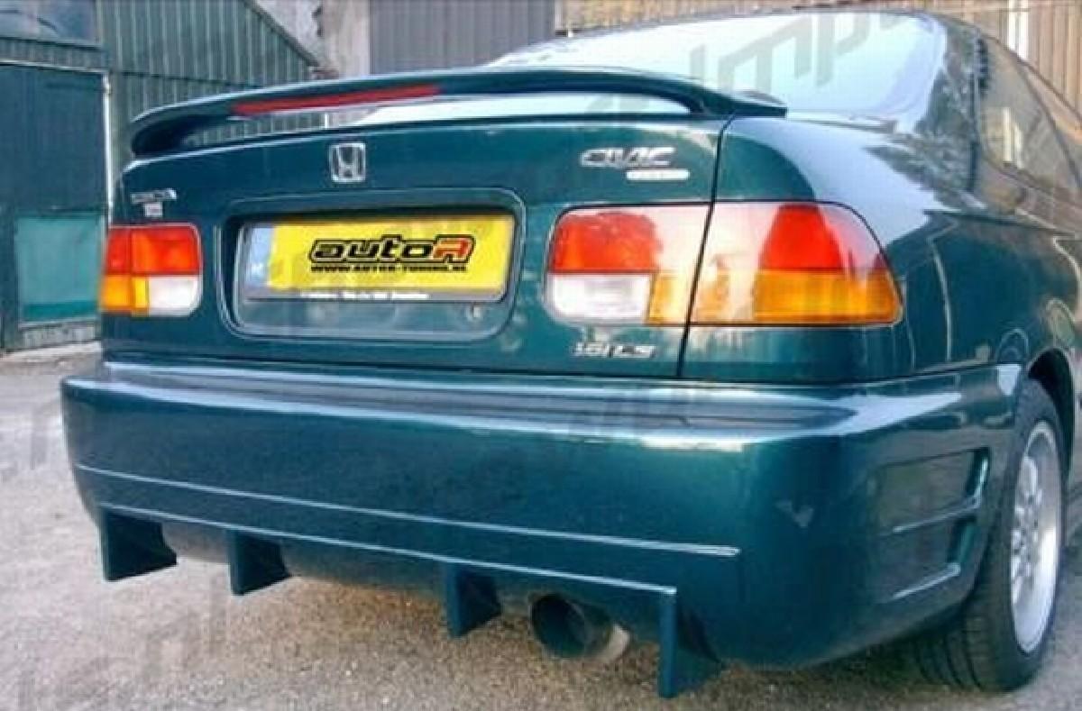 Heckstoßstange Honda Civic 96-00 2/4T Racing