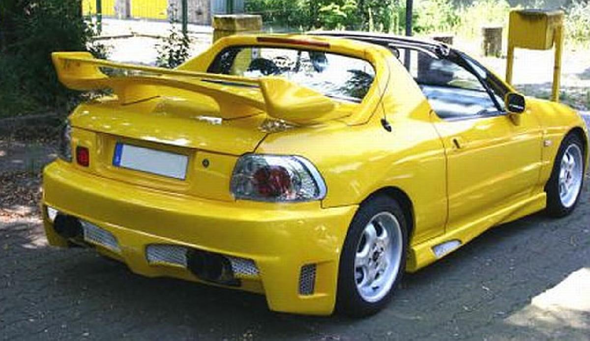 Shogun Heckspoiler Honda CRX Del Sol 92-97