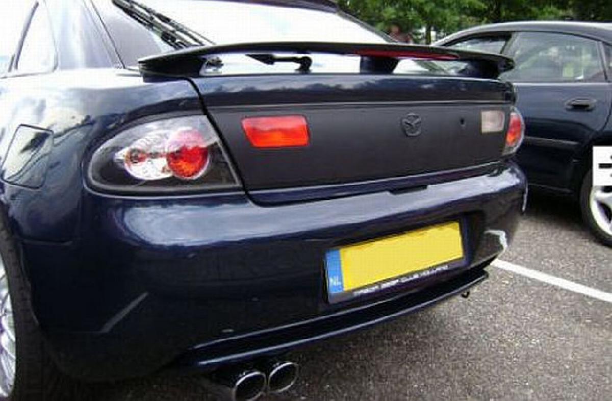 Lexus-Style Rückleuchten Mazda 323F BA 94-98 JDM Black