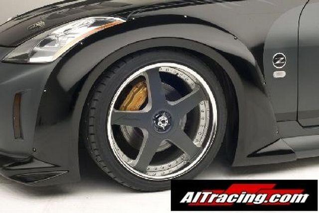 AIT Racing VeilSide-Look Kotflügelverbreiterung vorne Nissan 350Z