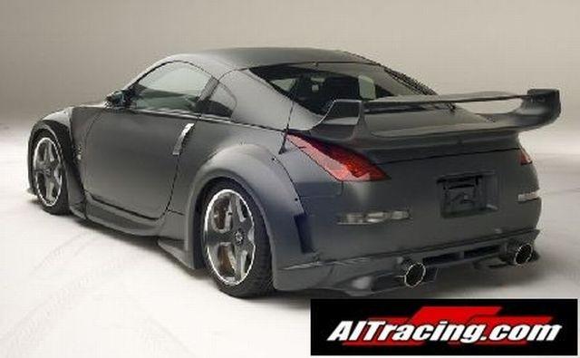 AIT Racing VeilSide-Look Kotflügelverbreiterung hinten Nissan 350Z