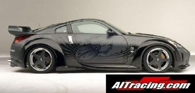 AIT Racing VeilSide-Look Seitenschweller Nissan 350Z