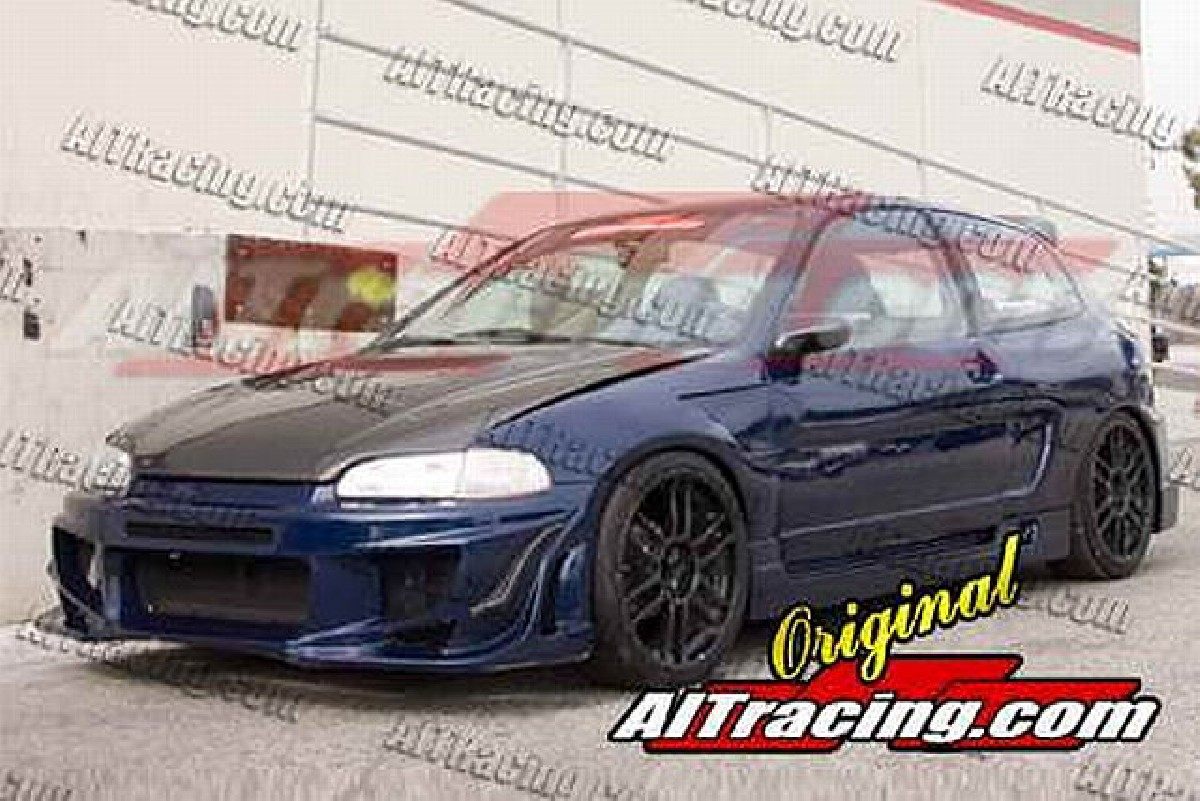 Tuning 1992 Honda Prelude Roll Cage Ait Racing Nx Style Breitbau Bodykit Civic 92 95 3t Hb