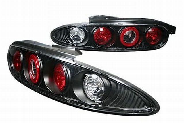 Rückleuchten Mazda MX3 Schwarz