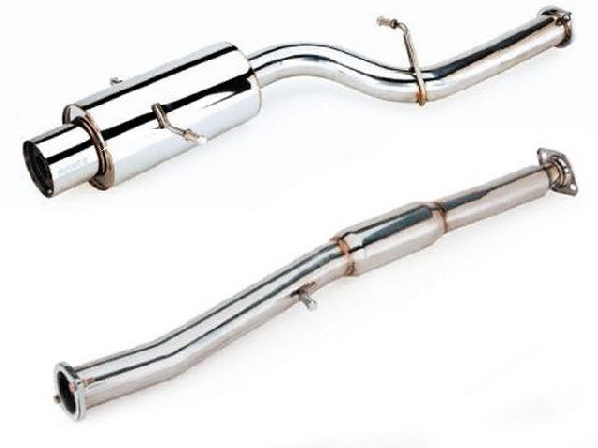Megan Racing Turbo Catback Auspuffanlage Mitsubishi Eclipse 95-99 FWD