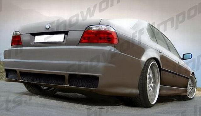 GT4-Look Heckstoßstange BMW 7er E38