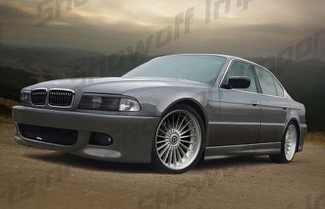 M-Line Seitenschweller BMW 7er E38