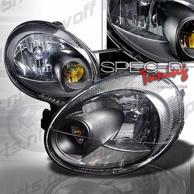 Scheinwerfer Dodge Neon Bj. 03-05 Schwarz