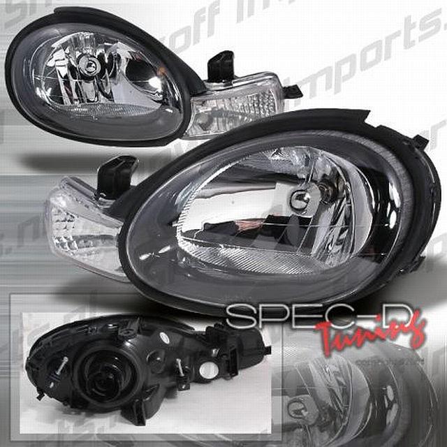 Scheinwerfer Dodge Neon Bj. 00-02 Schwarz/Klar