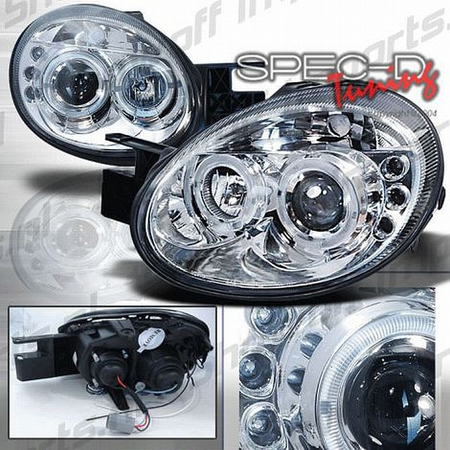 LED Scheinwerfer Dodge Neon Bj. 03-05 Chrom