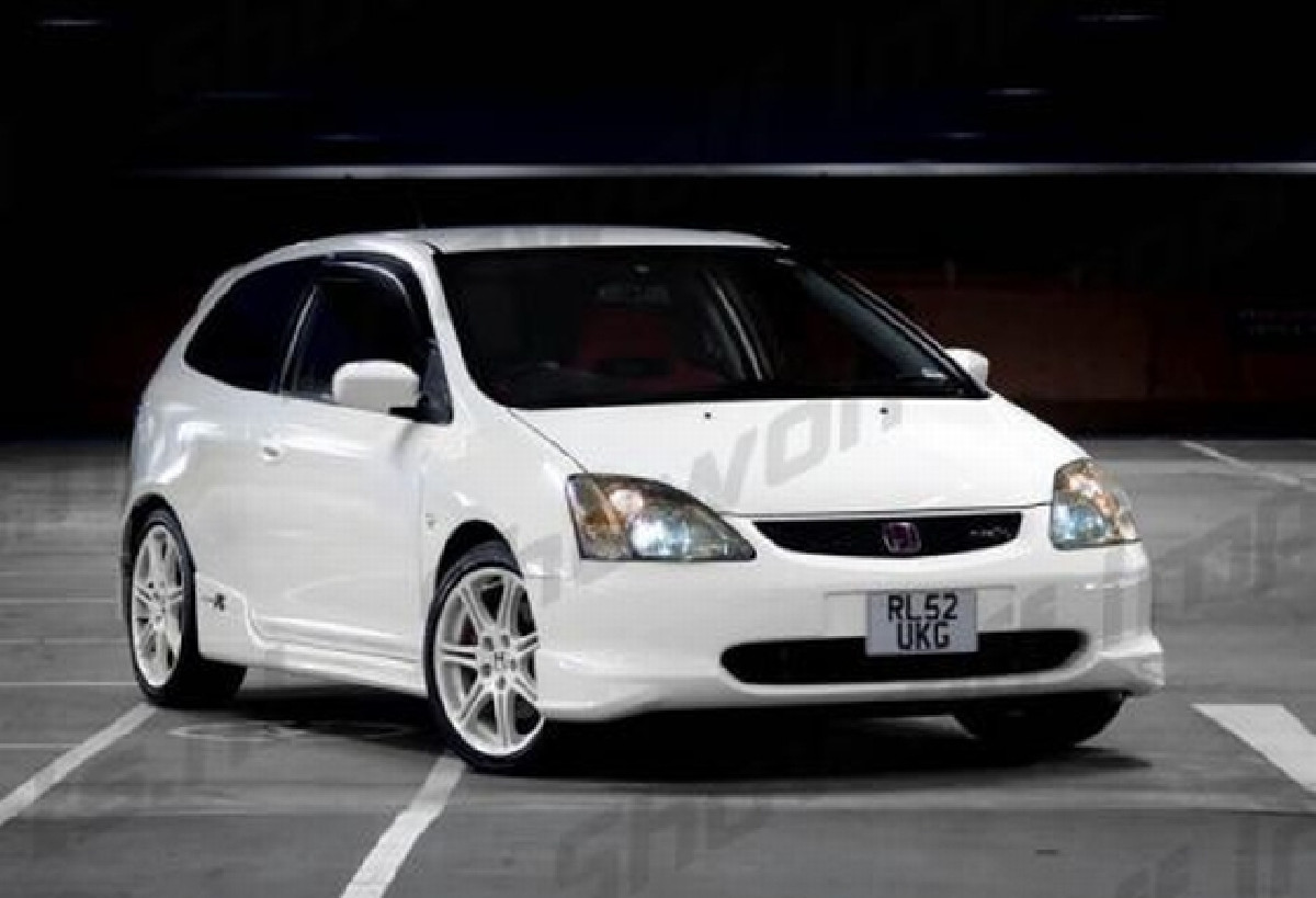 Type-R Look ABS Seitenschweller Honda Civic 01-05 3T alle Modelle