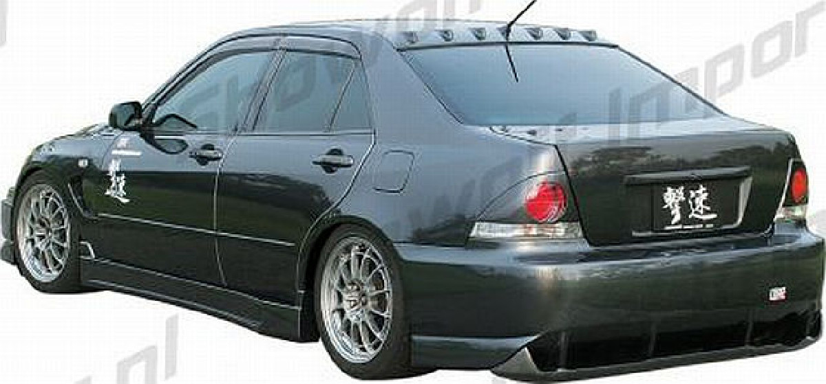 Chargespeed Heckstoßstange Lexus IS200/300 Bj. 98-05
