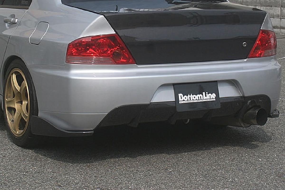 BottomLine Chargespeed Heckansatz Mitsubishi Lancer EVO 9