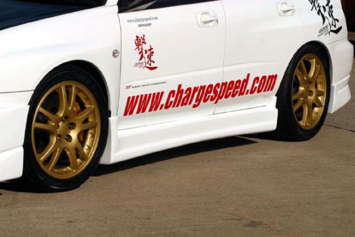 Type-1 Chargespeed Seitenschweller Subaru Impreza GD 00-07