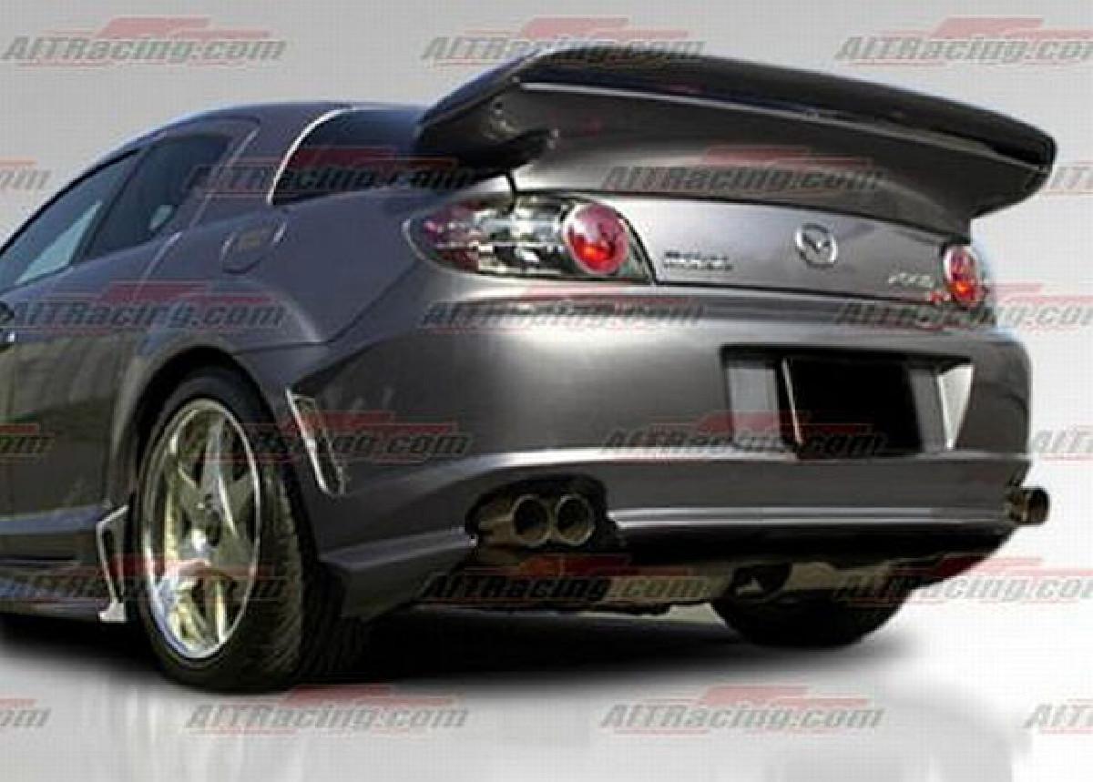 AIT Racing ABFLUG Heckstoßstange Mazda RX8 03-08