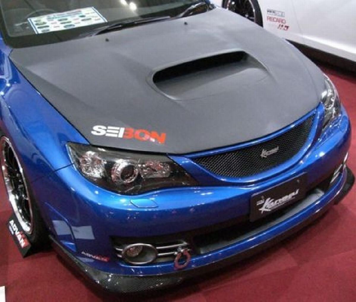 Seibon OEM Dry-Carbon Motorhaube Subaru Impreza WRX/STI ab 07