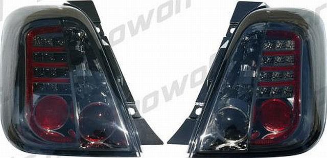 LED Rückleuchten Fiat 500 ab 07 Rauch