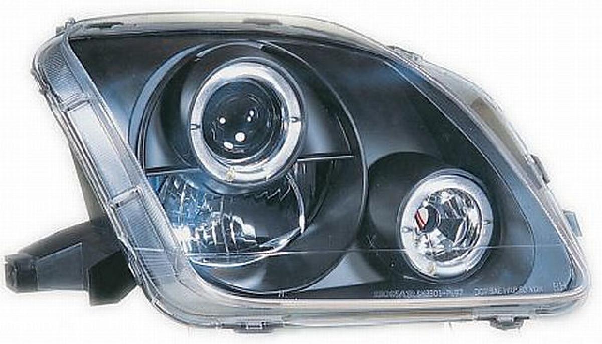 Scheinwerfer Honda Prelude 97-02 Schwarz