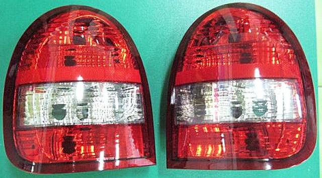 Rückleuchten Opel Corsa B 3T Rot/Klar