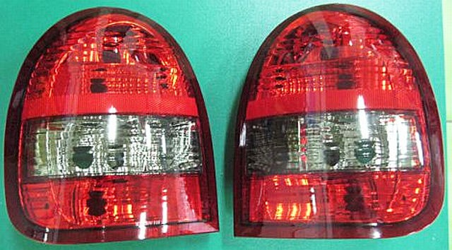 Rückleuchten Opel Corsa B 3T Rot/Rauch