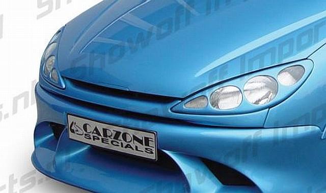 Frontgrill Peugeot 206 3D/5D/CC Model 1