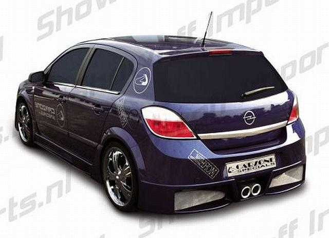 Futura Heckstoßstange Opel Astra H 5T