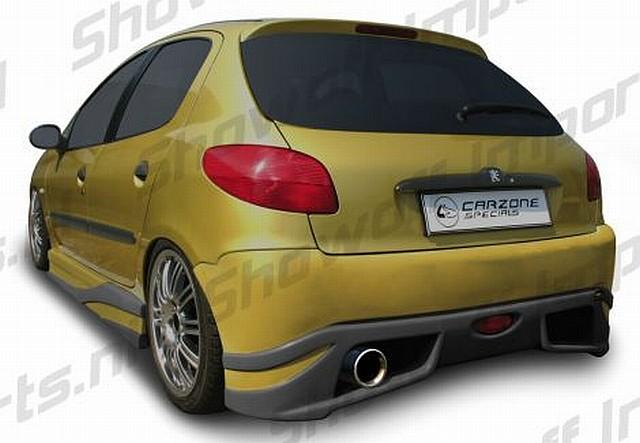 Interceptor Heckstoßstange Peugeot 206