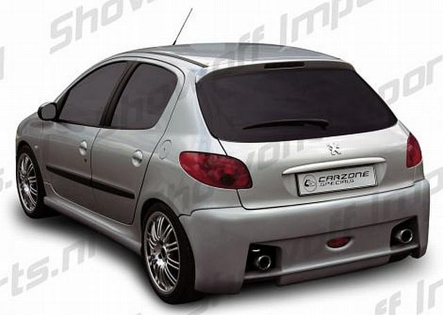 Vega Heckstoßstange Peugeot 206