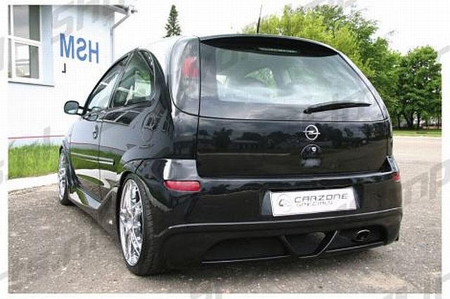 Blitz Heckstoßstange Opel Corsa C Bj. 03-06