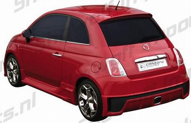 Giacosa Heckstoßstange Fiat 500 ab 07
