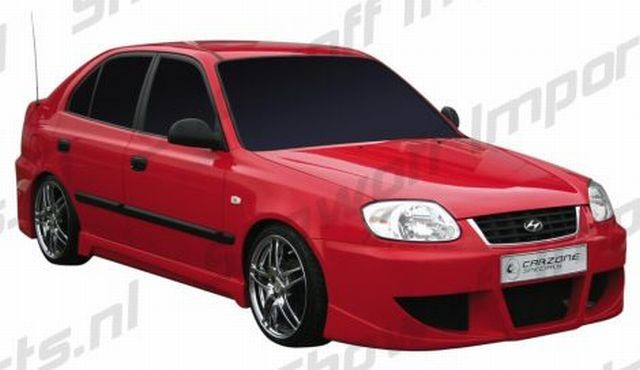 Apex Frontstoßstange Hyundai Accent Bj. 03-05