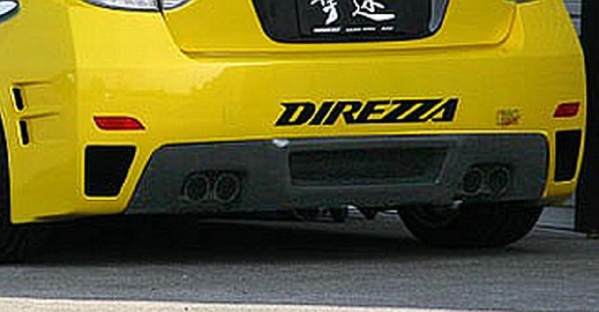 Chargespeed Heckdiffusor Subaru Impreza WRX STi 07-12