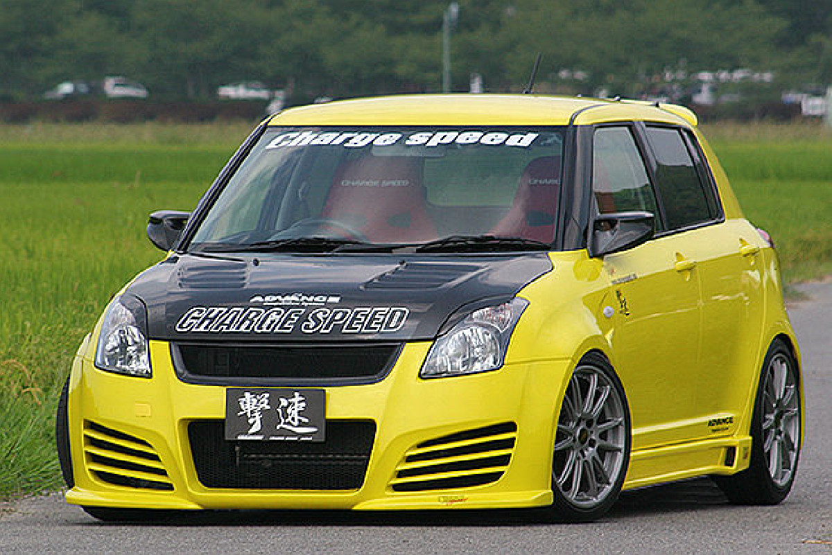 Type-1 Chargespeed Frontstoßstange Suzuki Swift 05-10