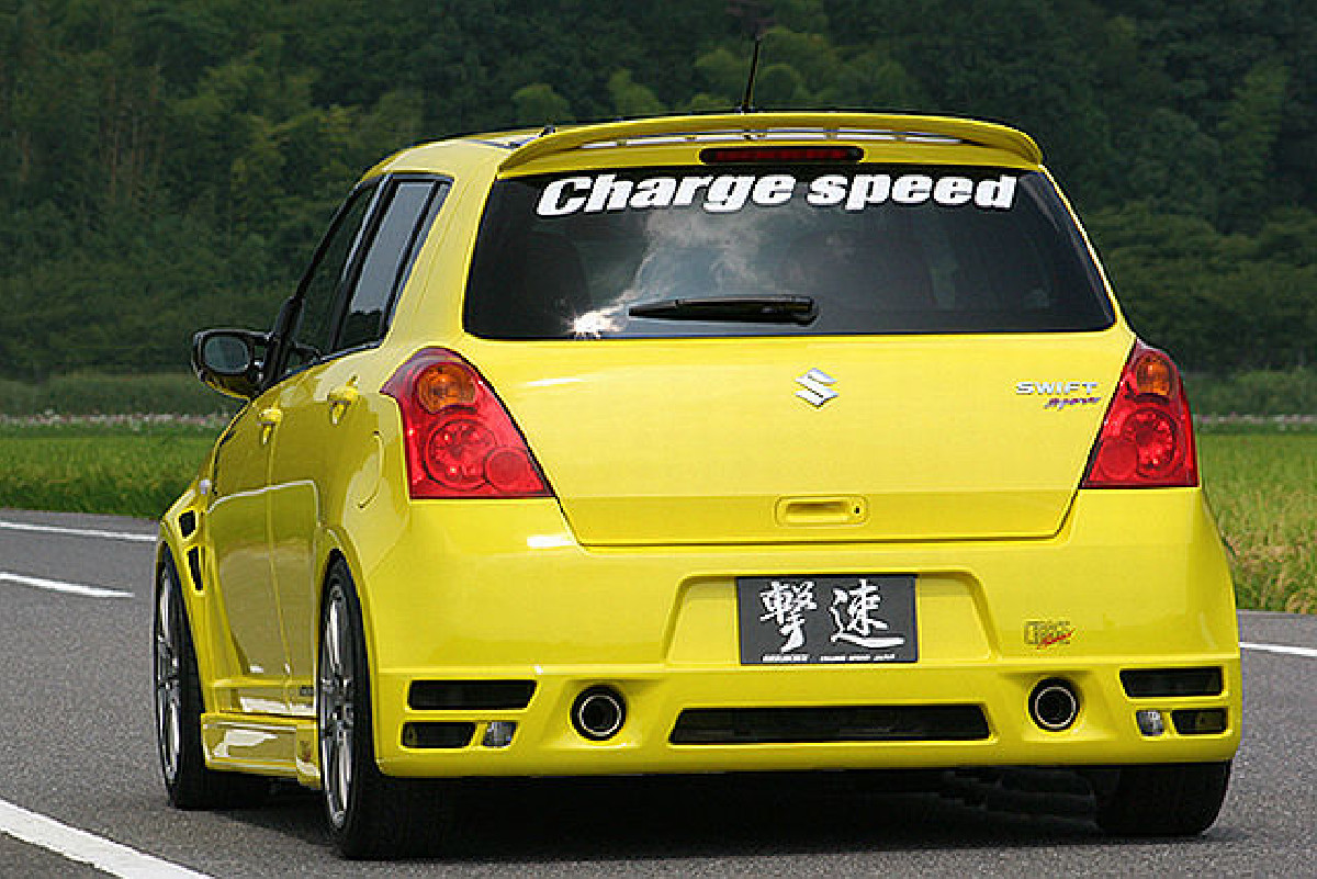 Type-1 Chargespeed Heckstoßstange Suzuki Swift 05-10