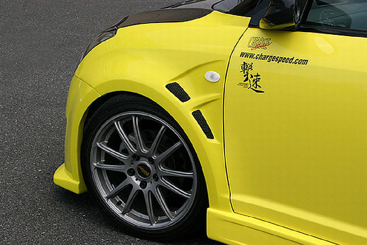 Chargespeed Kotflügel Suzuki Swift 05-10