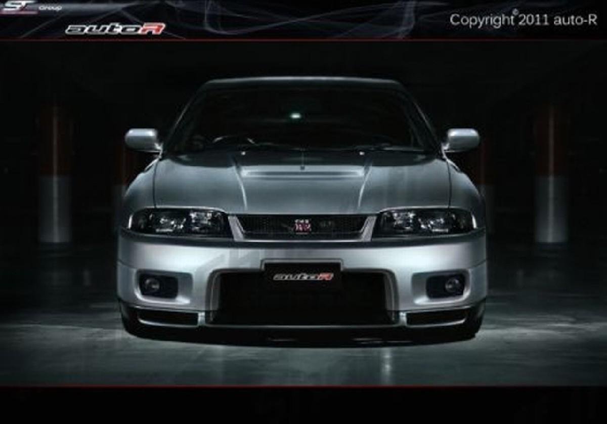 GTR Look Frontstoßstange Nissan Skyline R33 SPEC I GTS