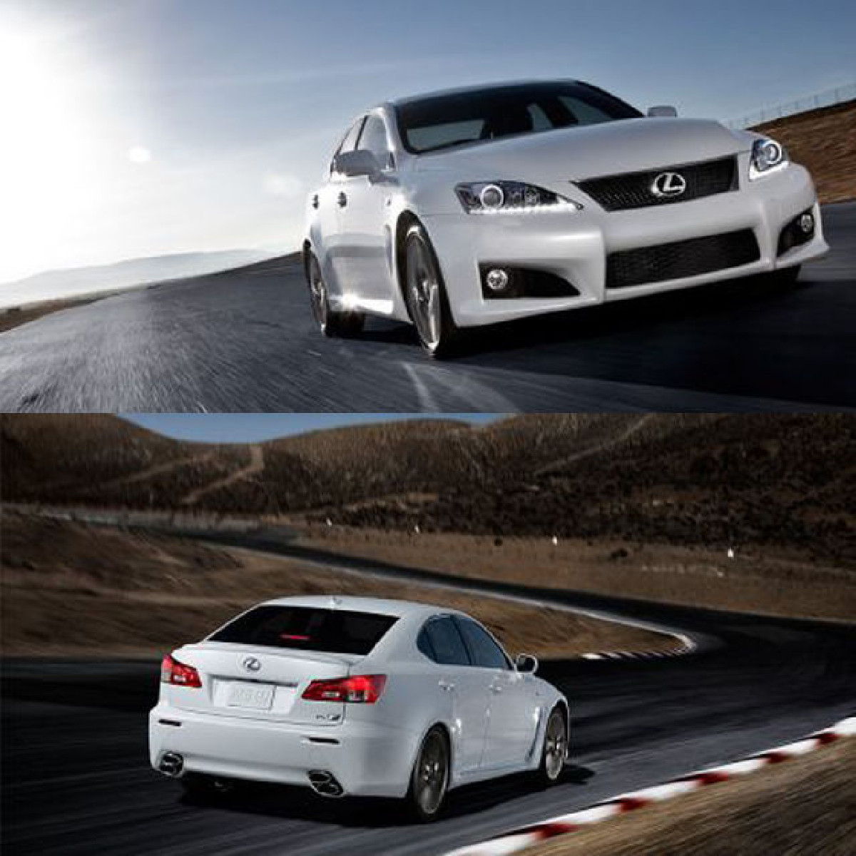 ISF Style Bodykit Lexus IS250/350 Bj. 06-08 PU