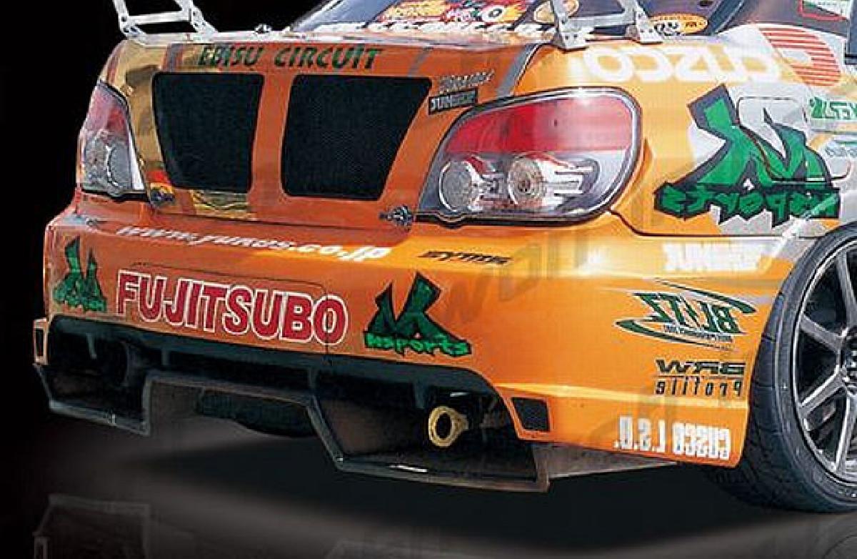 M-Sport Heckstoßstange Subaru Impreza GDA/B 04-05, ohne Diffusor