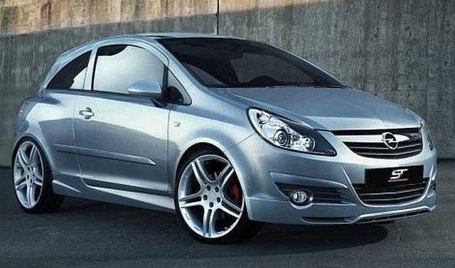 Frontlippe Opel Corsa D 06-12