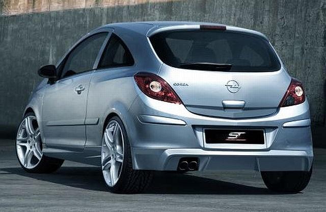 Heckansatz Opel Corsa D 06-12