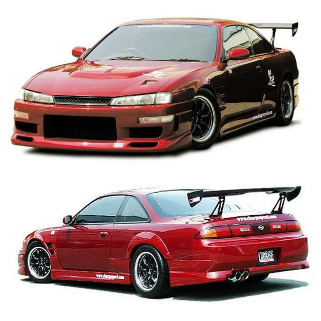 Chargespeed Kouki Bodykit Nissan Silvia S14A/240SX 97-99