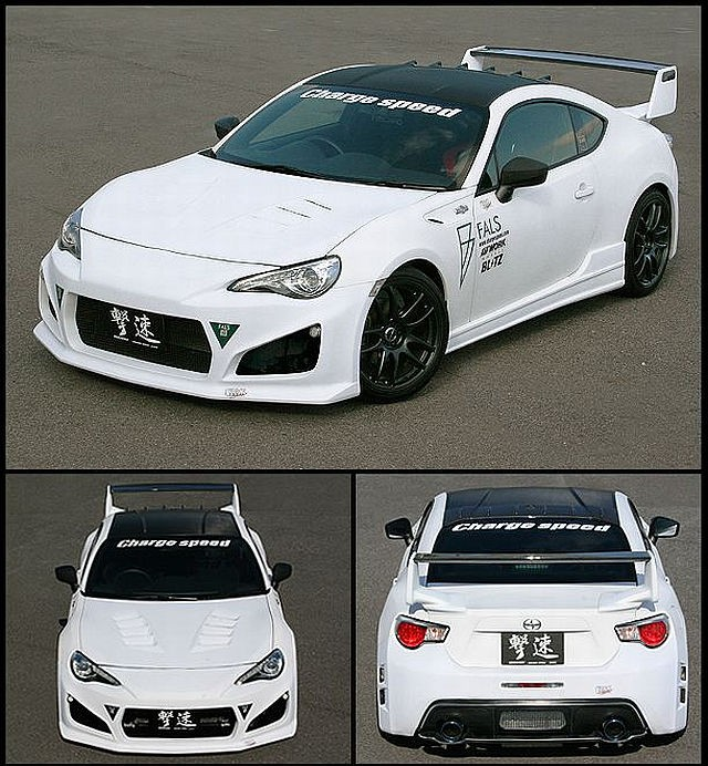 Chargespeed JDM Bodykit Toyota GT86