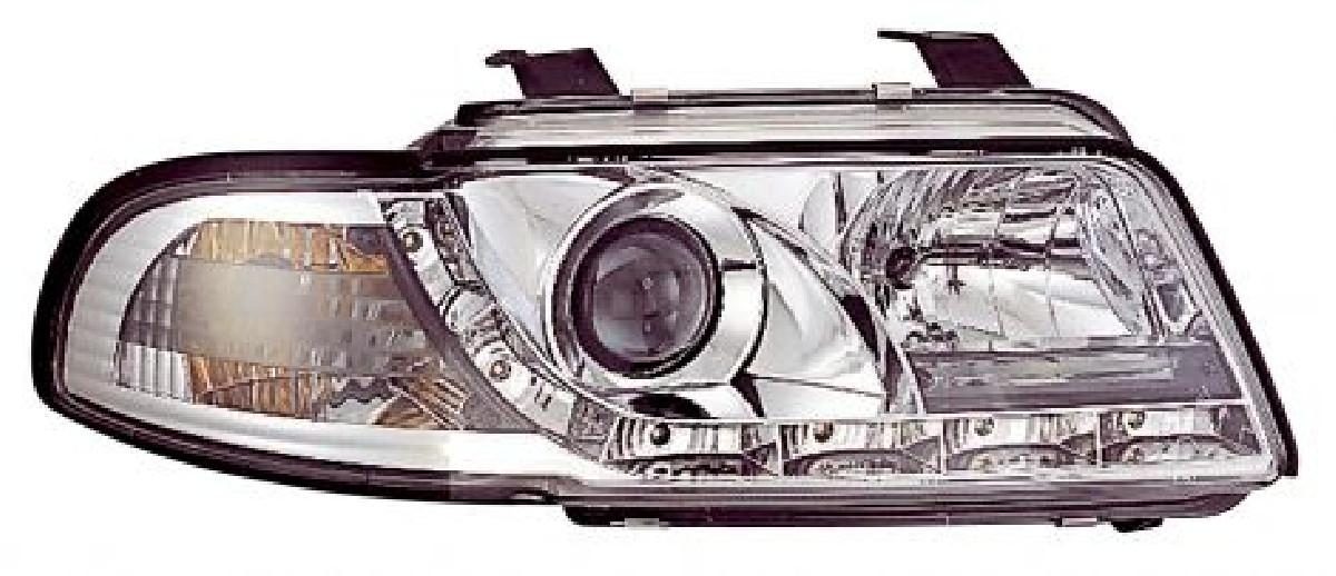 Audi A4 95-98 Headlights Set DRL Clear